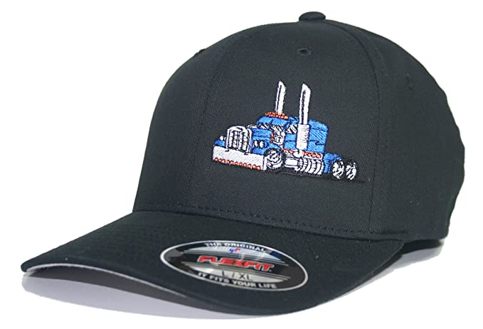 0514ebbaaa527 JUST RIDE Trucker Hat Diesel Big RIG Cap Flexfit  Amazon.ca ...