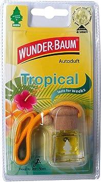 Wunder Baum 461217 4 Lufterfrischer 4 Er Set Duftflakon Tropical Auto
