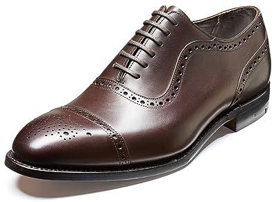 BARKER - Zapatos de cordones para hombre marrón marrón sKmAkf
