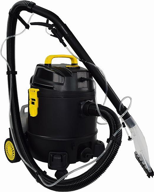 Syntrox Germany Aspirador en húmedo y seco, pulverizador, limpiador de alfombras, enjabonador, equipo de extracción: Amazon.es: Hogar