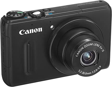 Canon PowerShot S100 - Cámara Digital 12.1MP, color negro: Amazon ...