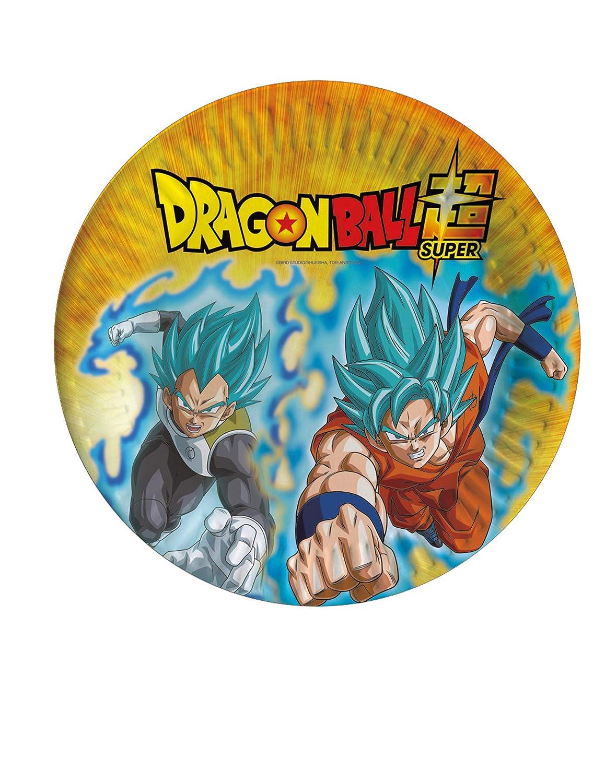 COOLMP - Juego de 12 Platos de cartón Dragon Ball Super 23 ...
