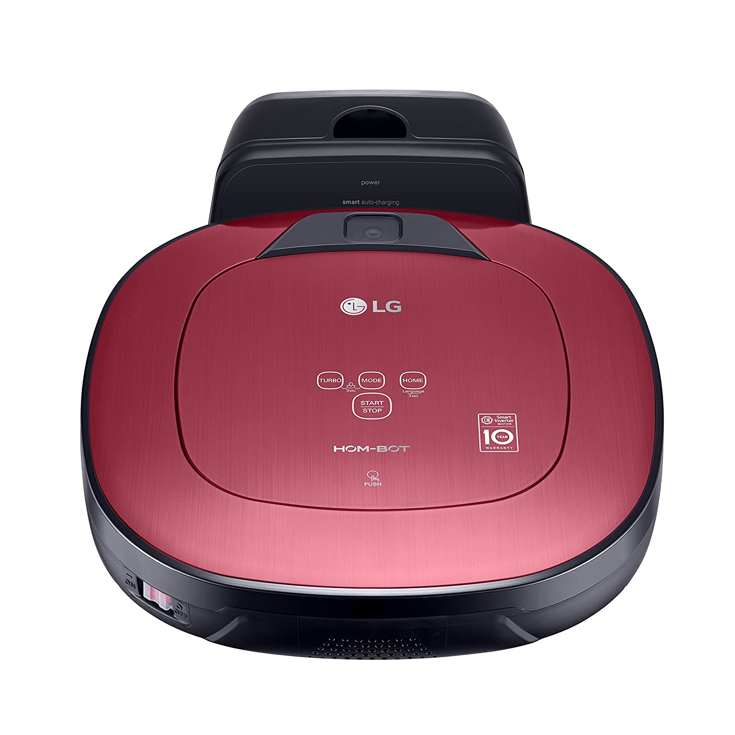 LG Electronics VRD 820 MRPC - Aspiradora, color Rojo: Amazon.es: Hogar