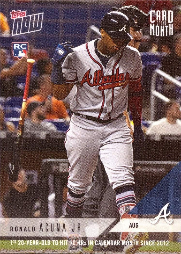 2019 Topps NOW Dansby Swanson #55 ~ Atlanta Braves ~ PR only 325!