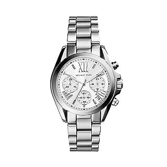 Michael Kors Reloj analogico para Mujer de Cuarzo con Correa en Acero Inoxidable MK6174: Amazon.es: Relojes
