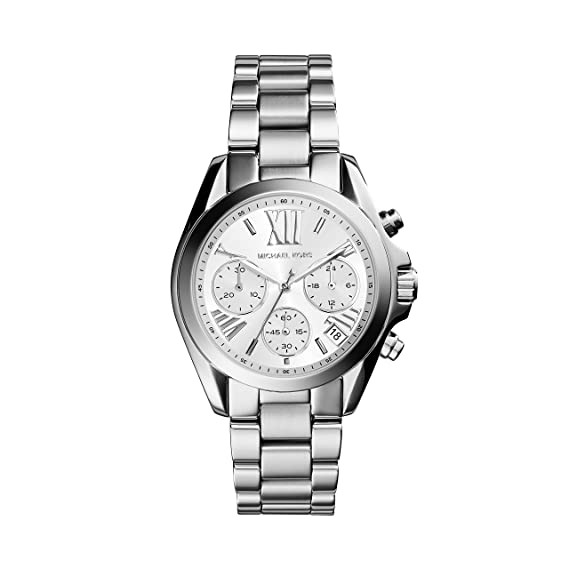 Michael Kors Reloj analogico para Mujer de Cuarzo con Correa en Acero Inoxidable MK6174