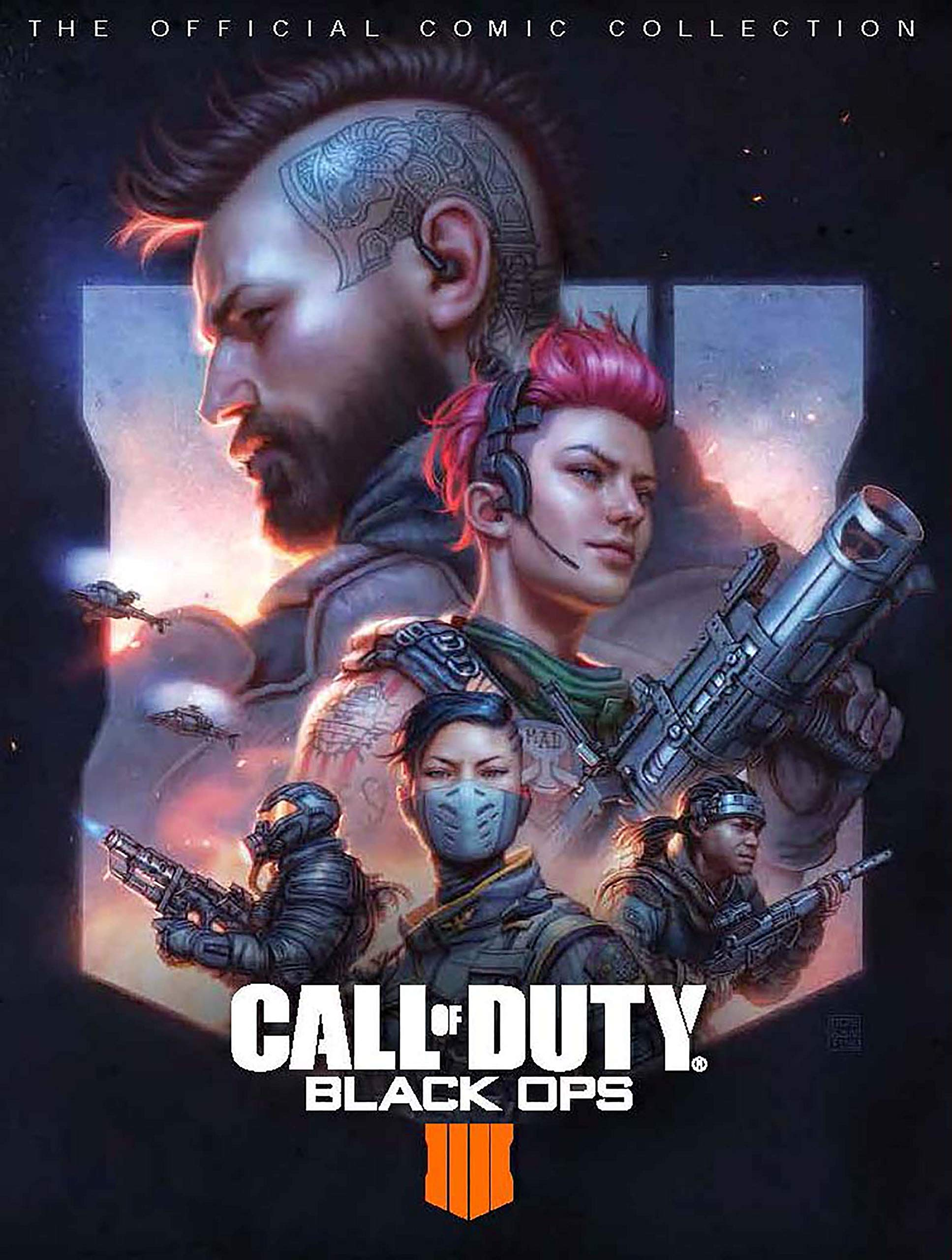 25. Call of Duty: Black Ops 4 - The Official Comic Collection