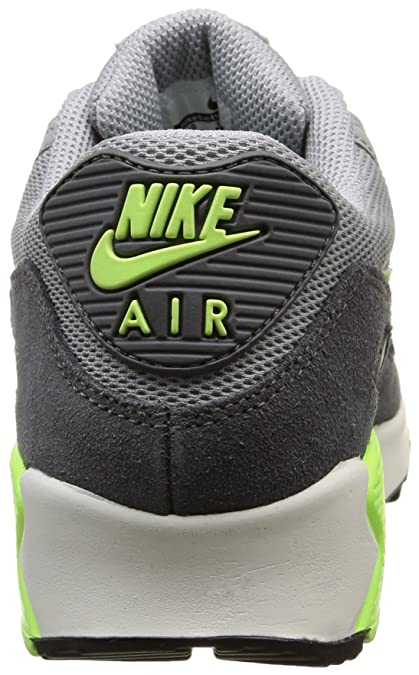 new style a231f 05c02 Nike Air Max 90 Essential, Womens Trainers, Wolf GreyGhost GreenDark Grey Summit, 3.5 UK Amazon.co.uk Shoes  Bags