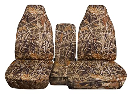 Surprising Totally Covers Fits 2004 2012 Chevy Colorado Gmc Canyon Camo Truck Seat Covers Front 60 40 Bench W Console Armrest Wetland Camouflage 16 Prints Ncnpc Chair Design For Home Ncnpcorg