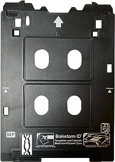 Amazon.com: Inkjet bandeja de tarjetas de PVC para ...