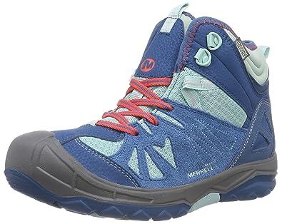 7d7ee0b446699 Merrell Capra Mid Waterproof Hiking Boot (Toddler/Little Kid/Big Kid),