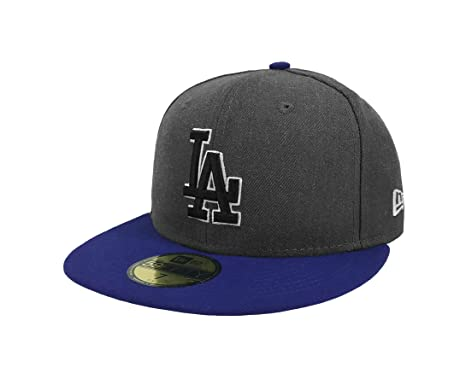New Era 59Fifty Hat MLB Los Angeles Dodgers Shader Melt 2 Charcoal Royal  Blue Cap 0ec955af8e02f