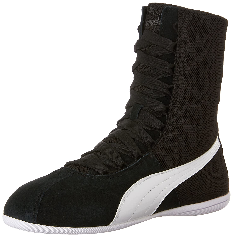 bb4d124dc4c5c PUMA Women's Eskiva High Top Textured Sneakers