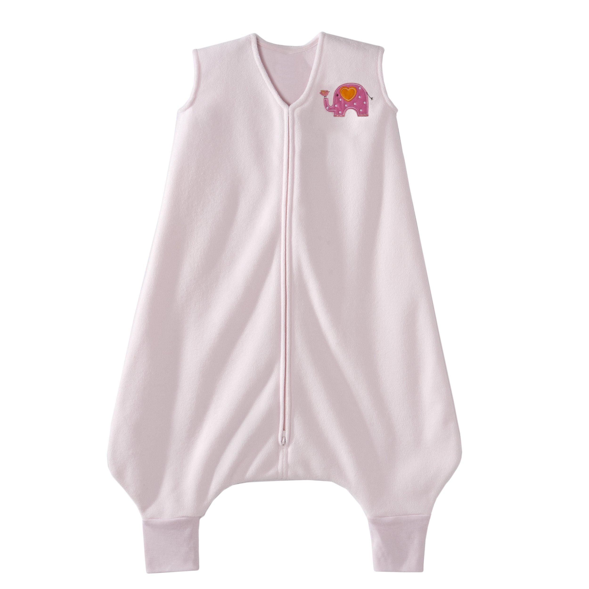 HALO Big Kids Sleepsack Micro Fleece Wearable Blanket, Pink, 2-3T by HALO