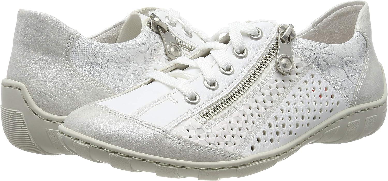 Rieker Femme Chaussures de Ville à Lacets M37G6, Dame