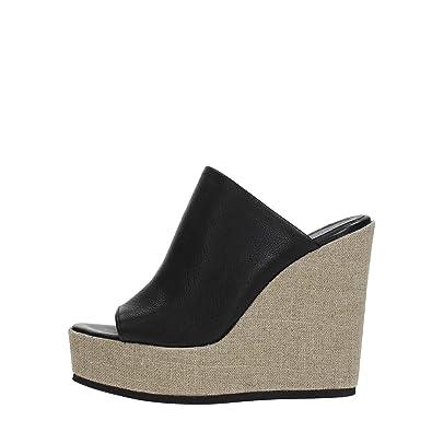 Fabbrica Dei Colli 17001032 Chaussure À Lacets Femme Noir 39