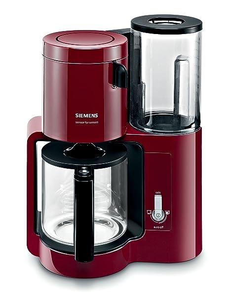Siemens TC80104 - Cafetera automática (1160 W, 10-15 tazas), color ...