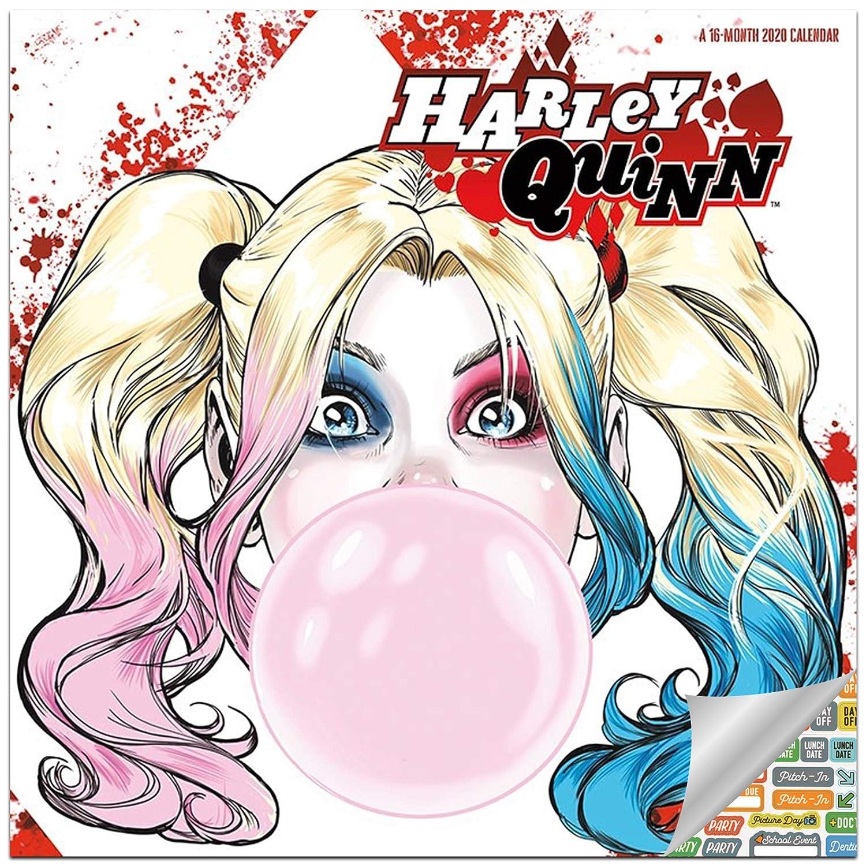 Amazon.com: Harley Quinn Calendario 2020 Set – Deluxe 2020 ...