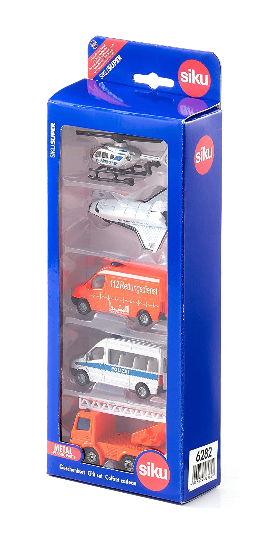 Spielzeugautos & Zubehör 6283 SIKU 5er Geschenkset 4 Baufahrzeuge günstig kaufen