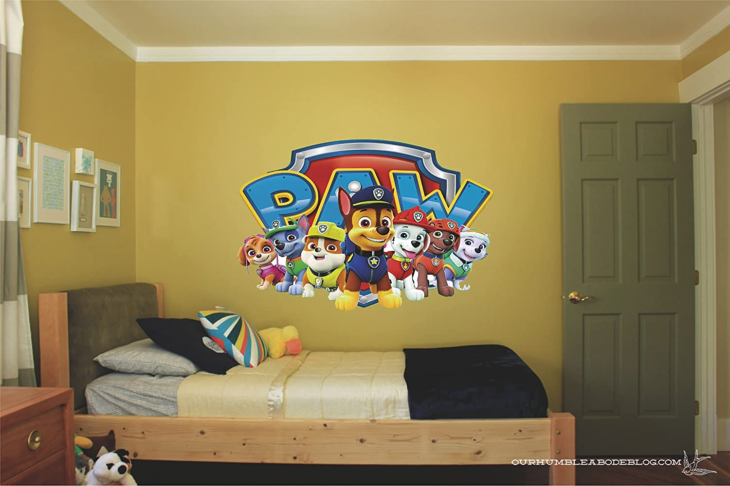 Paw patrol rescue pups Movie 3D Wall Decal Sticker 18