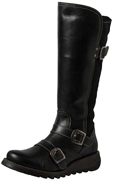 3cbbc5fb167ee Fly London Women s SUDA361FLY Biker Boots  Amazon.co.uk  Shoes   Bags
