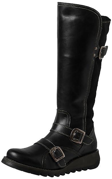 8a66e8fe3e2 Fly London Women s SUDA361FLY Biker Boots  Amazon.co.uk  Shoes   Bags