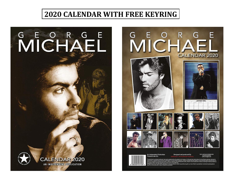 George Michael Tour 2020 Amazon.: George Michael Calendar 2020 + George Michael