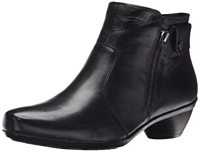 Naturalizer Women's Haley Boot, Black, 6.5 WW US