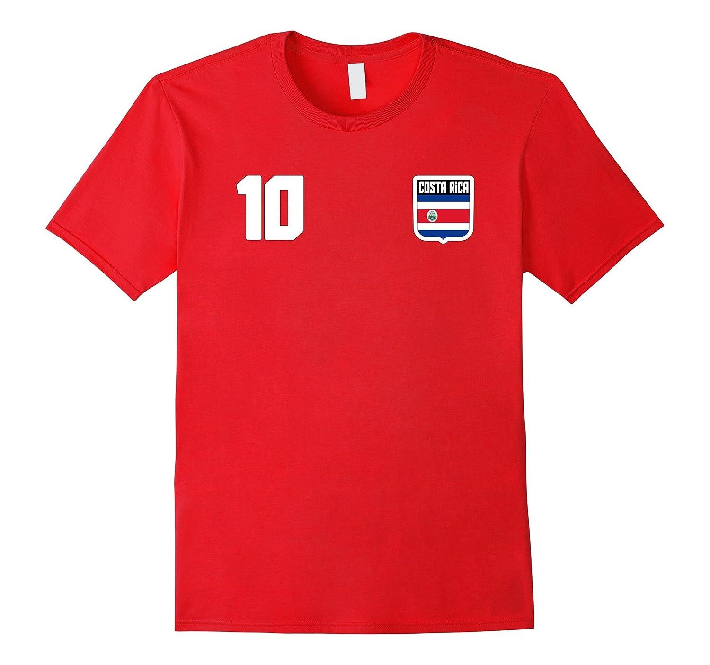 COSTA RICA T-shirt Costa Rican Tee Retro Soccer Football-TH
