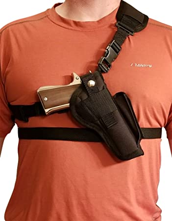 Silverhorse Holsters Chest/Shoulder Gun Holster | Fits Rock Island Armory  1911 w/ 5