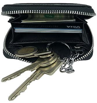 Branco großes Leder Schlüsseletui Schlüsseltasche Börse Mappe für Auto Haus