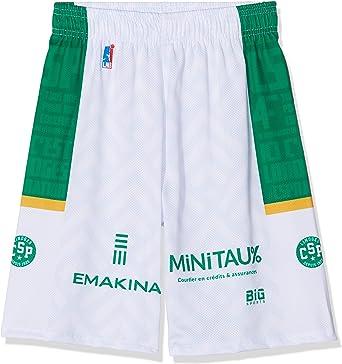 Limoges CSP - Pantalón Corto Oficial de Baloncesto para niño 2018-2019: Amazon.es: Ropa y accesorios
