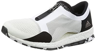 4cc0e86f3 Image Unavailable. Image not available for. Colour: Adidas Women's  Pureboost X Tr Zip Ftwwht, Cblack and Dgsogr Multisport Training Shoes ...