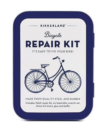 fbab95052d9 Amazon.com   Kikkerland Bike Repair Kit Tin   Sports   Outdoors
