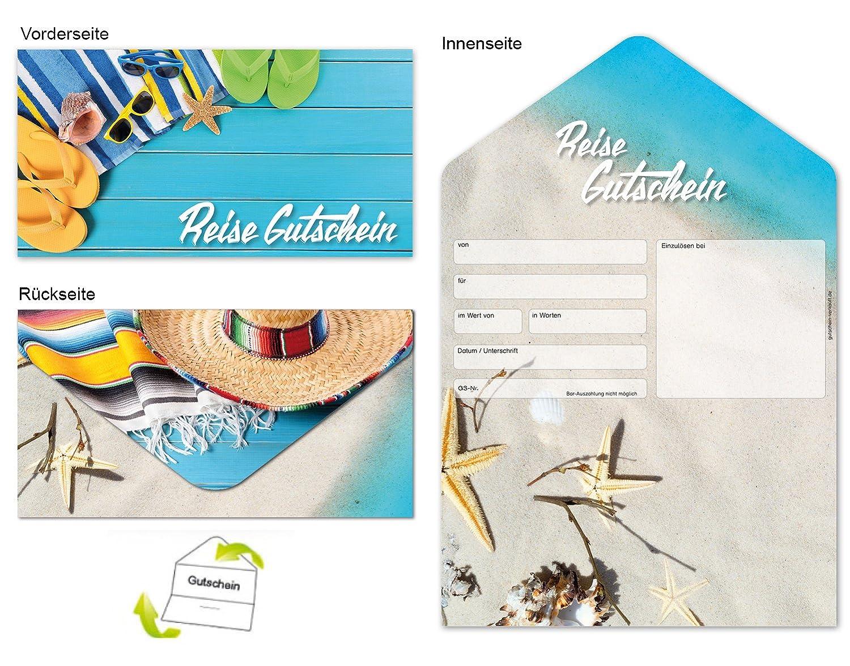 Plantilla de cupones, Formulario de cupones Deluxe - Viajes Caribe 10 unidades.: Amazon.es: Oficina y papelería