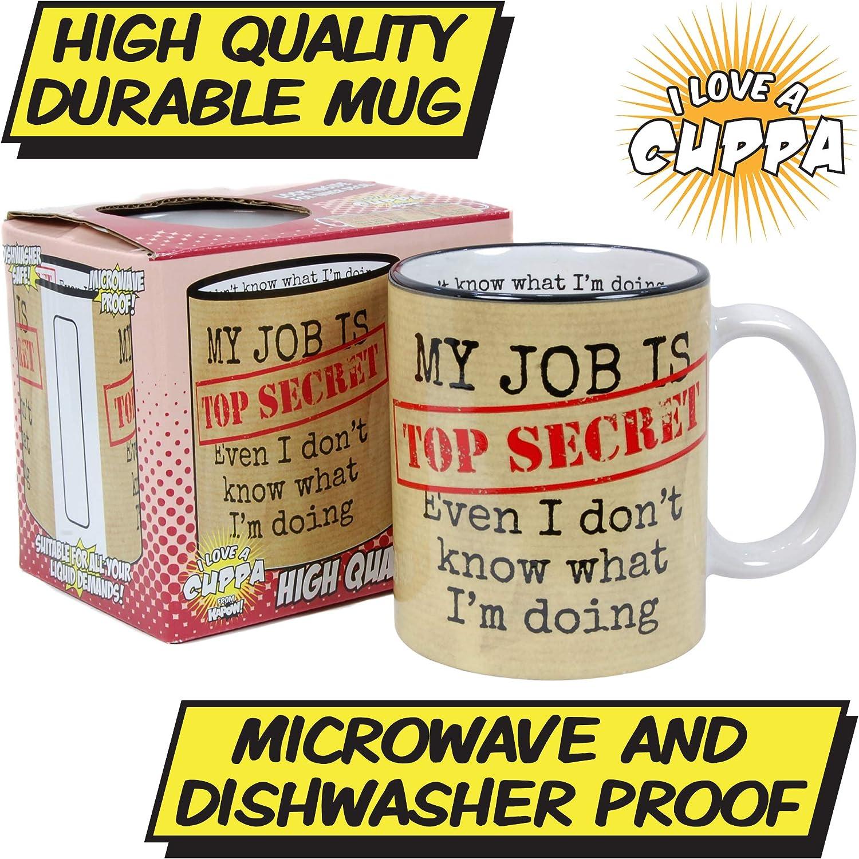 My Job is Top Secret Mug