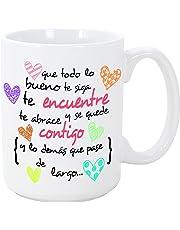 Tazas desayuno originales con frases motivacionales - MUGFFINS - Tazas con frases y mensajes alegres