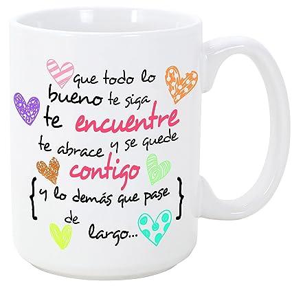 Mugffins Taza Original de Desayuno para Regalar a Amigas Amigos y Seres  Queridos - Que Todo 387caf6f9b87