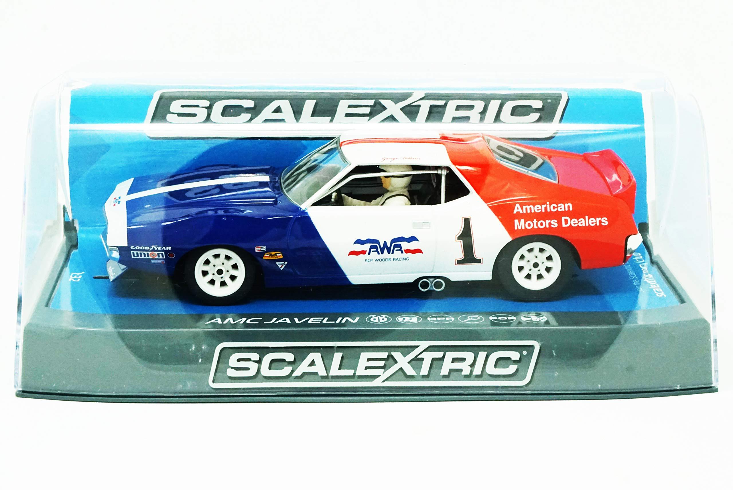 Scalextric AMC Javelin Trans Am George Follmer #1 1:32 Slot Car C3875 Vehicle Replicas