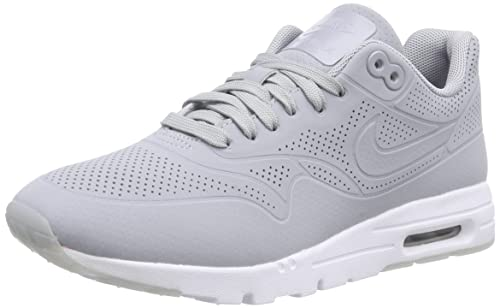 buy online 632bc cf23f NIKE Women s Air Max 1 Ultra Moire Low-Top Sneakers Grey Size  3 UK