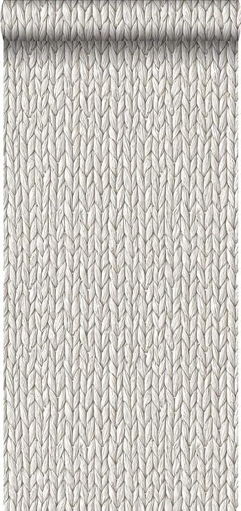 DansLemur 5056-5 color beige Papel pintado TNT con efecto textura algod/ón