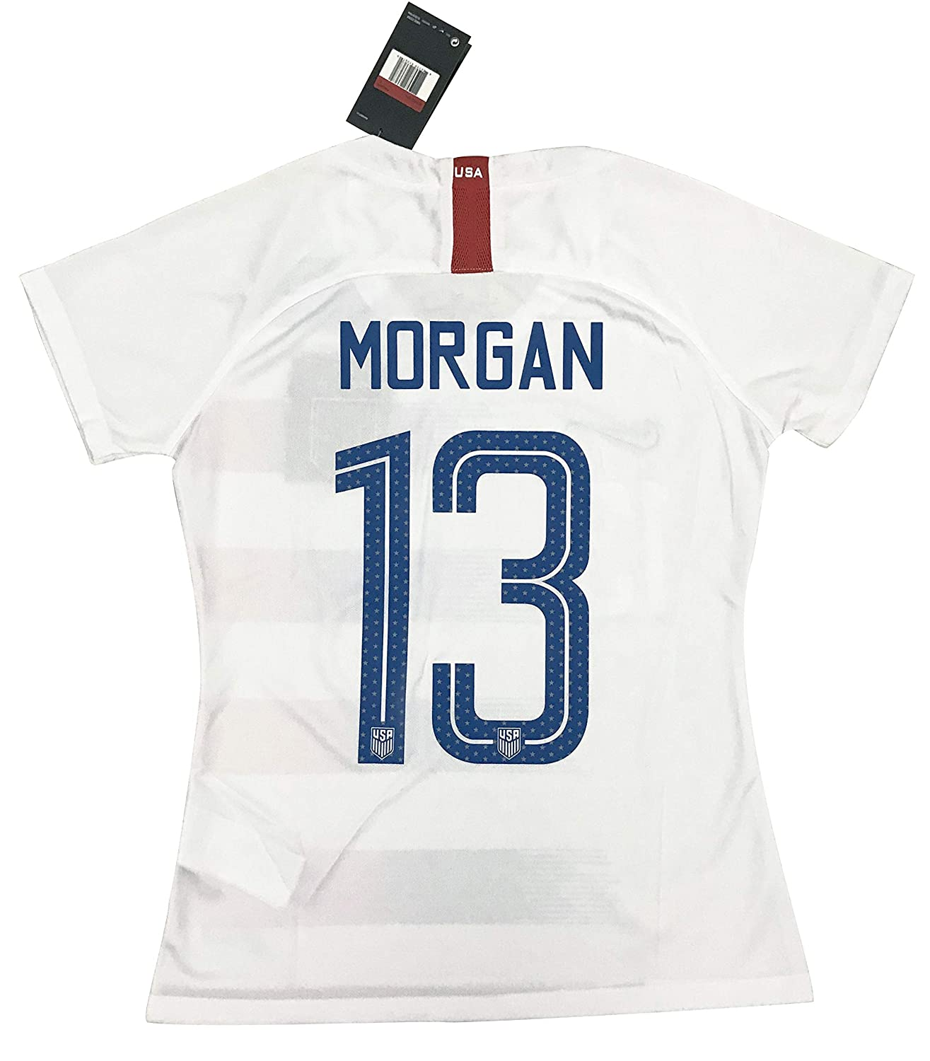 929d9ebe4 New  13 Morgan Women s USA Soccer 2018 2019 Home Jersey