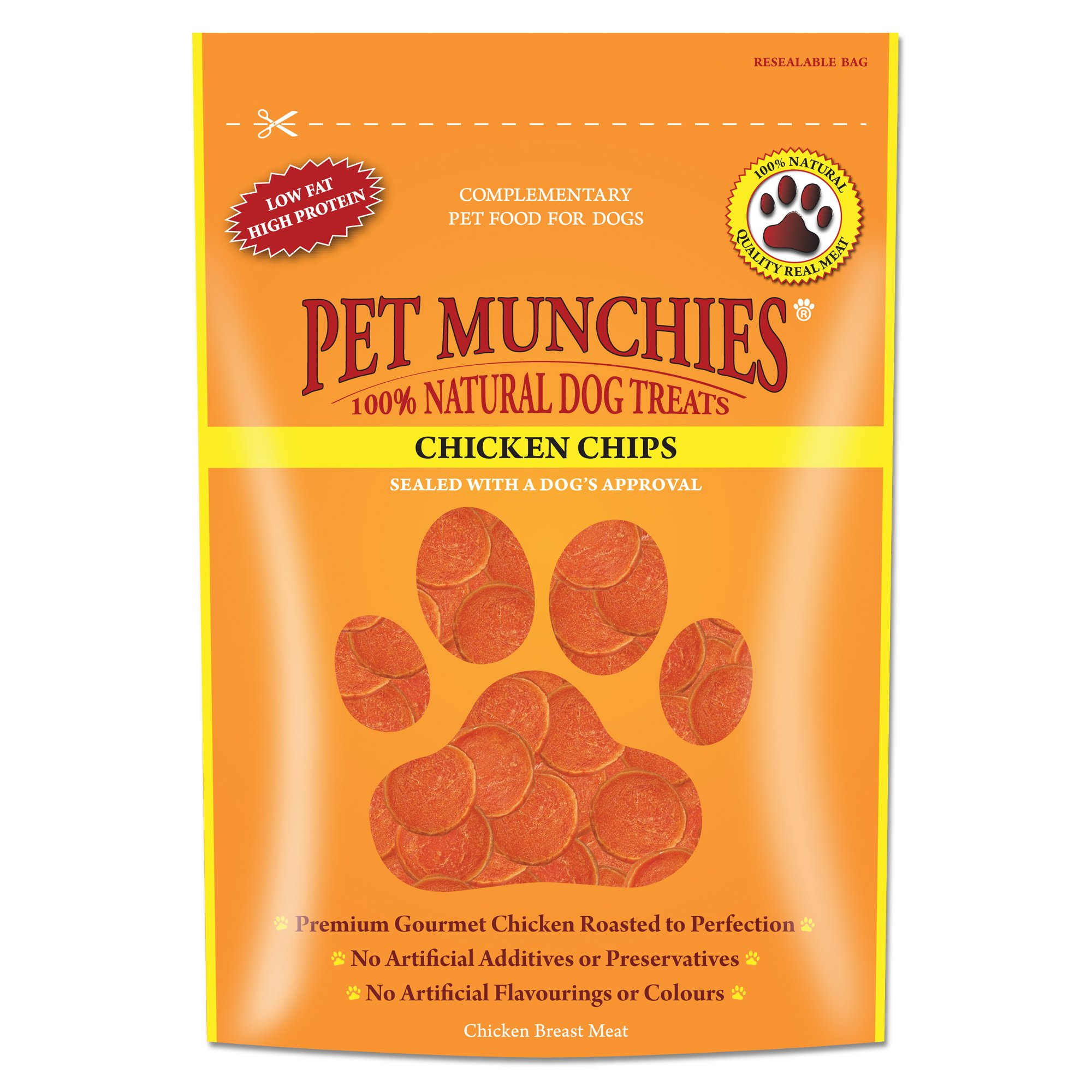 Pet Munchies Chicken Chips 100g by GroceryLand