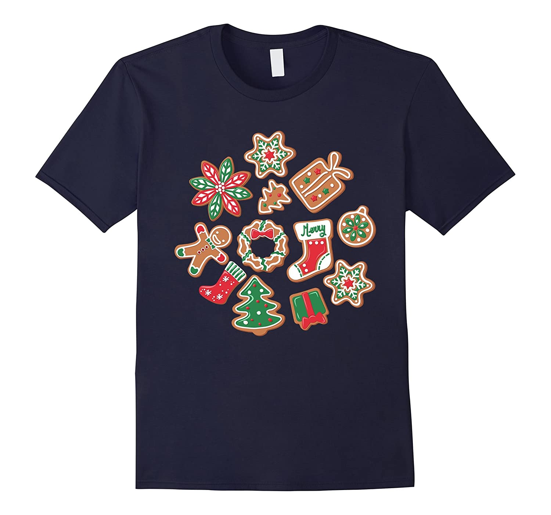 Christmas Cookie Cutter Baking Party Shirt Anz