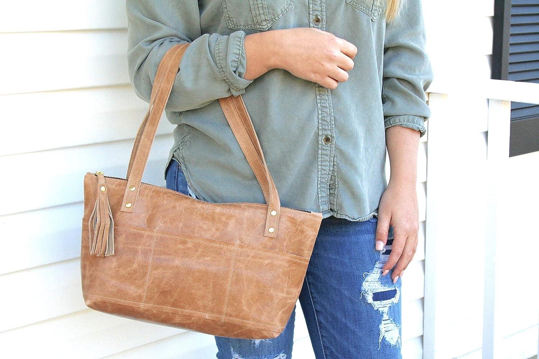 Cowhide Bag - Black Leather Satchel - Silver Leather Purse - Shoulder Bag