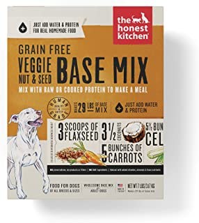 product image for The Honest Kitchen Human Grade Dehydrated Wholesome Base Mix for Dogs - Organic Whole Grain and Grain Free Recipes