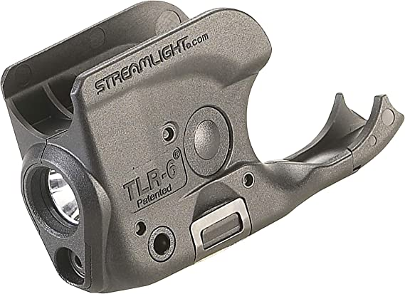 Streamlight 69279 TLR-6 Tactical Pistol Mount Flashlight 100 Lumen with Integrated Red Aiming Laser for Non-Rail 1911