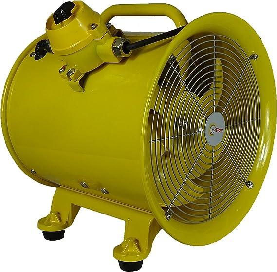 Olympus OLY-CEX30/220 Ventilador extractor de polvo y humo a prueba de explosión 300 mm 220 V ~ 50 Hz: Amazon.es: Bricolaje y herramientas