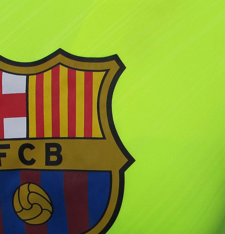 FC BARCELONA Official Merchandise by HKY Sportswear Men/'s Short Sleeve Jersey T-Shirt ELEC. Yellow, X-Large