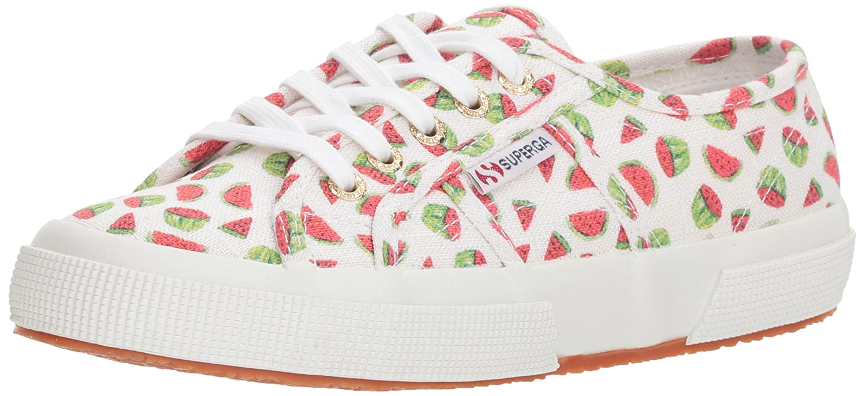 Superga Women's 2750 Linenfruitw Sneaker B0777XGQ2P 40 M EU (9 US) Watermelon
